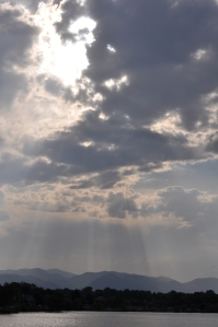 Sun breaks out