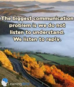 Biggest Communication Problem