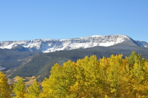Trapper's Peak area