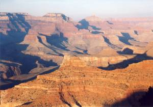 Grand Canyon - South Rim About Sunset