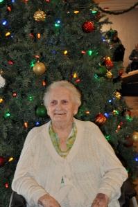 My Mom at 96, Still Laughing!